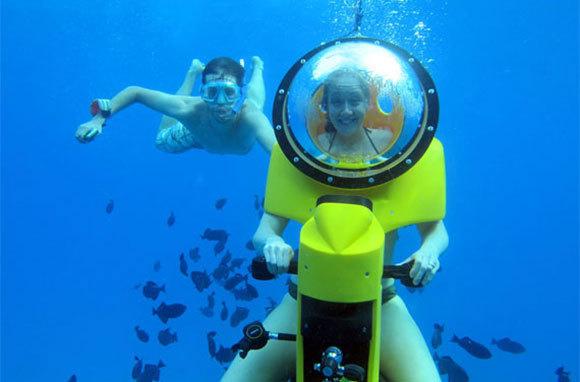 Scooter Cruiser Underwater Experience, Mauritius