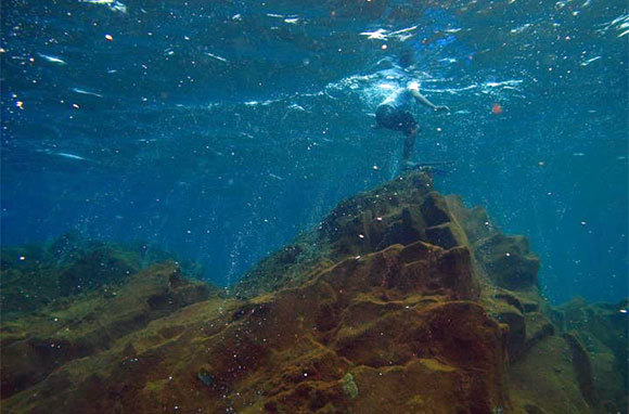 Underwater Volcano Dive, Indonesia