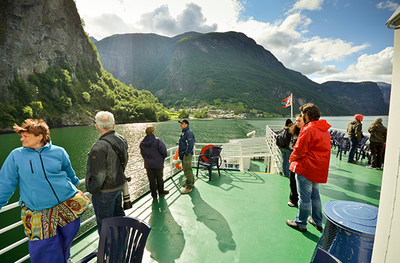 Norway Fjords Boat