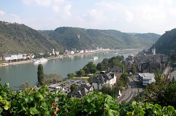 Rhine Valley Boat