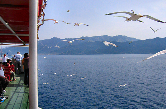 Greek Islands Ferry