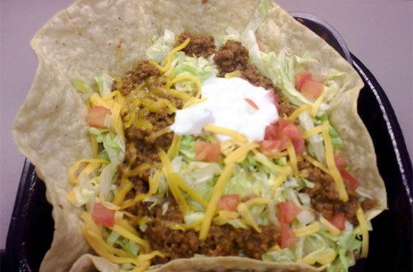 Taco Bell Fiesta Taco Salad with Beef