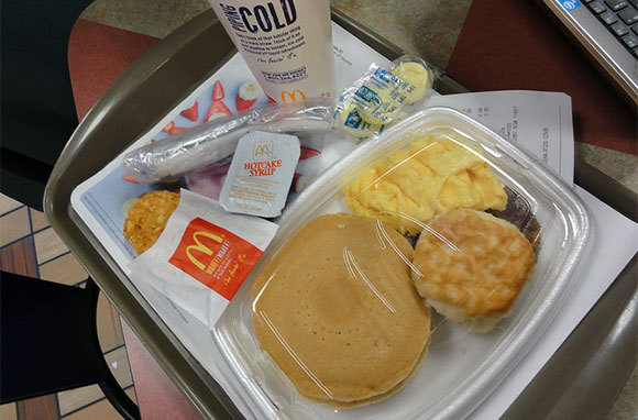 McDonald's Big Breakfast with Hotcakes