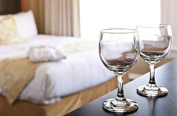 Some Hotel Housekeepers Polish Glasses with Furniture Polish