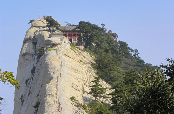 Chang Kong Cliff Road, Huashan Mountain, China