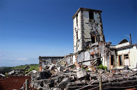 Ponta Da Ribeirinha Lighthouse Ruins