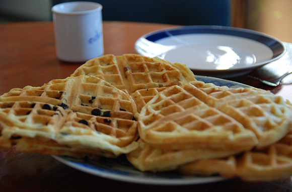 Use Mix-Ins in the Waffle Maker