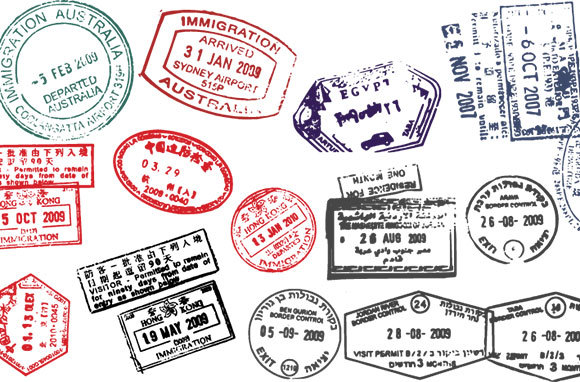Having Passport Stamps from Certain Countries