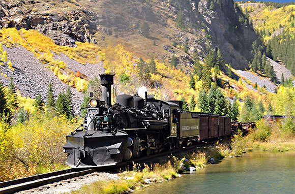 Durango & Silverton Narrow Gauge Railroad, Durango, Colorado