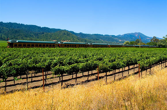 Napa Valley Wine Train, Napa, California