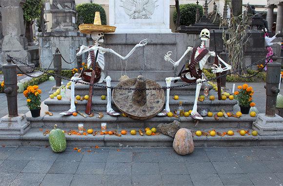 Dia de los Muertos, Mexico