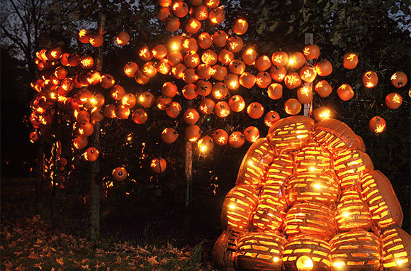 The Great Jack O'Lantern Blaze, Croton-on-Hudson, New York