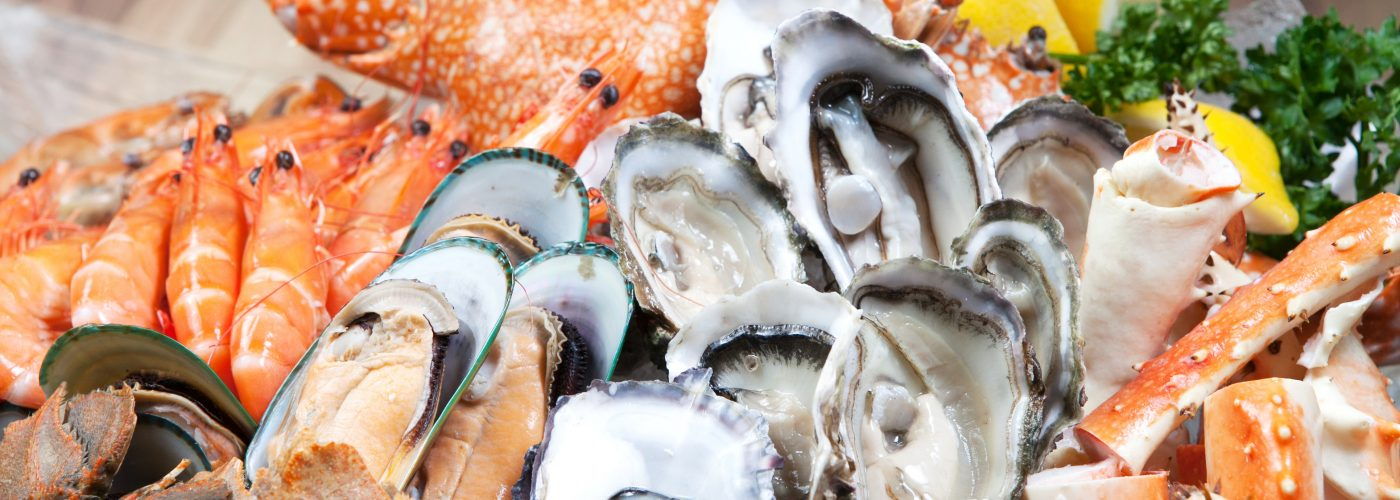 seafood on las vegas buffet