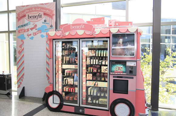 Benefit Cosmetics Glam Up & Away! Beauty Kiosks