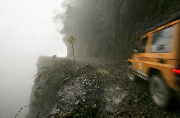 Terrifying Scenic Roads