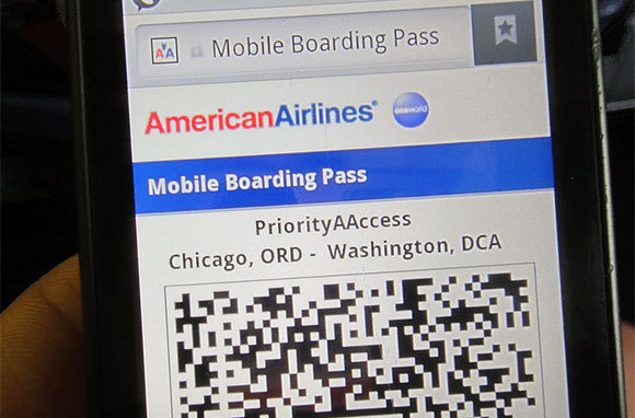 Upload Your Boarding Pass to Your Phone