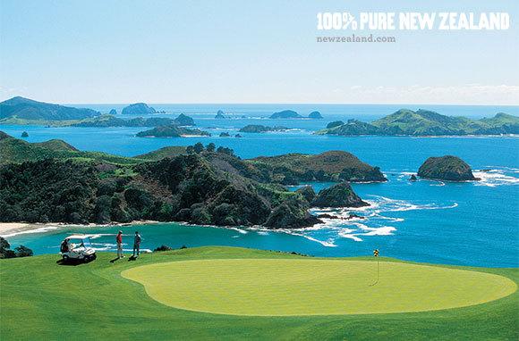 Kauri Cliffs Golf Course, Northland