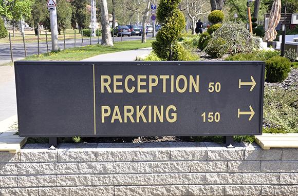 Parking Fees at Suburban Hotels