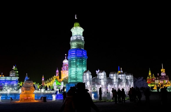 Harbin Ice and Snow Sculpture Festival, China