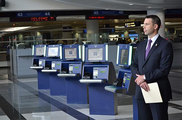 New Customs Kiosks