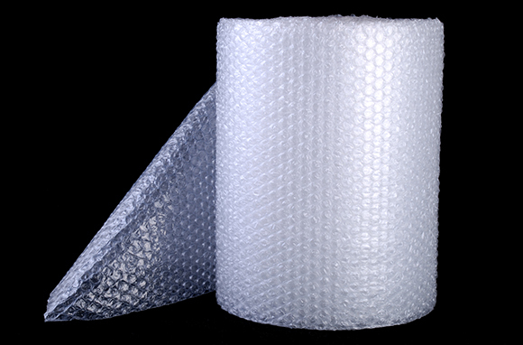 Protect Breakables with Bubble Wrap