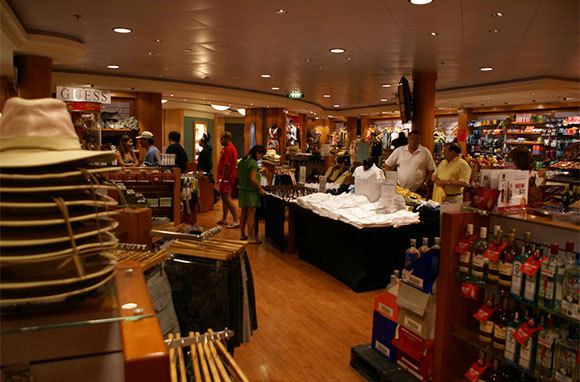 Shipboard Boutiques And Shops