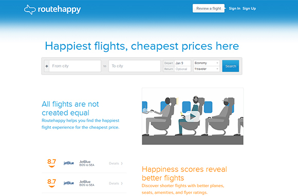 Routehappy: Fly Happy