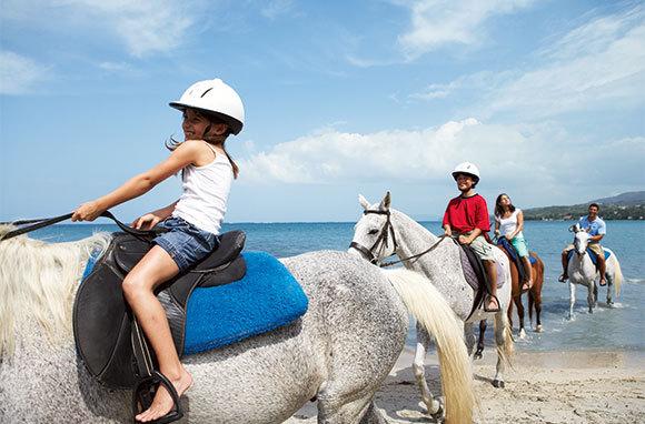Horseback Ride In The Caribbean