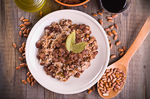 Rice And Beans, Puerto Rico