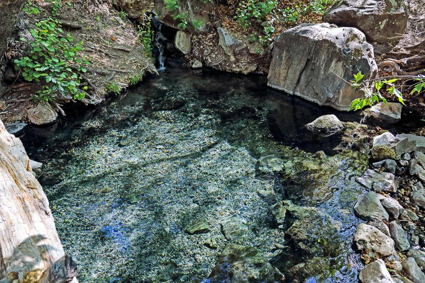 Jordan Hot Springs, Near Silver City, New Mexico