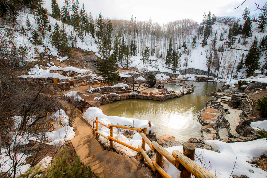 Strawberry Park Hot Springs, Steamboat Springs, Colorado