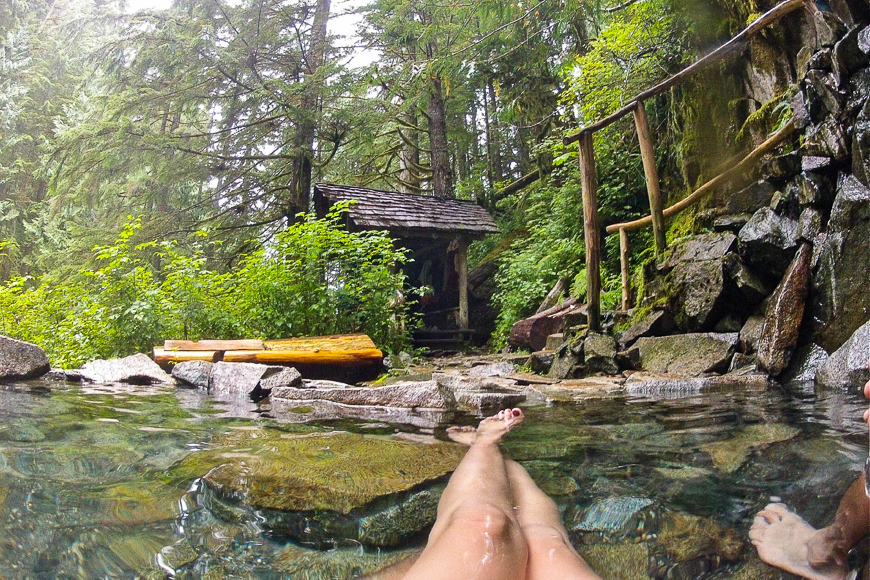 Goldmyer Hot Springs, Near North Bend, Washington