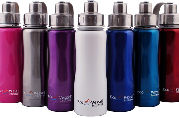 Eco Vessel Boulder Triple-Insulated Stainless Steel Water Bottle