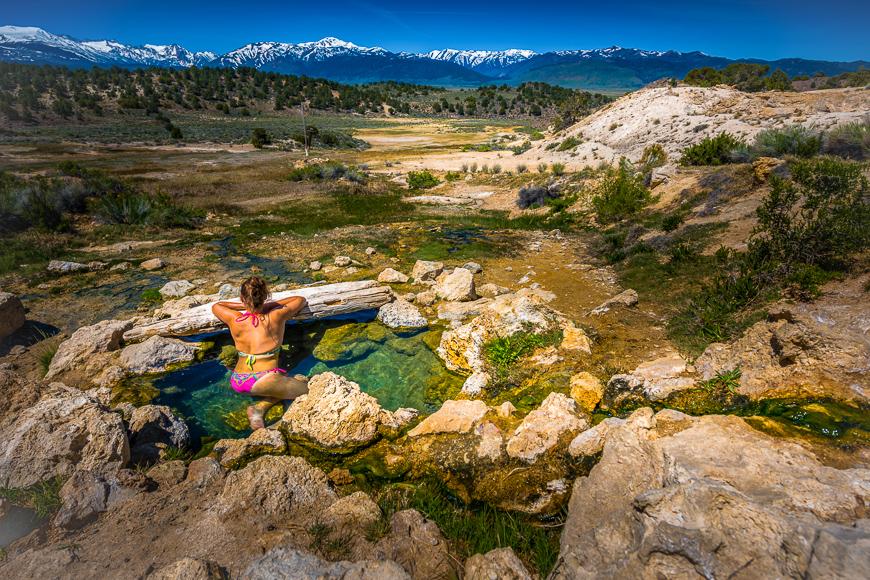 Travertine Hot Springs, Bridgeport, California