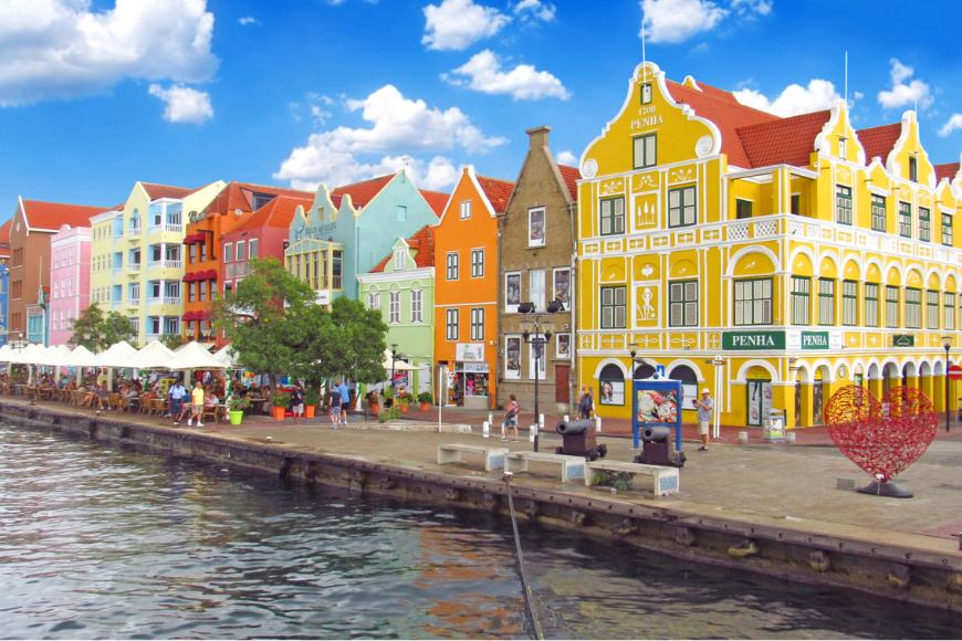 Willemstad, curacao.