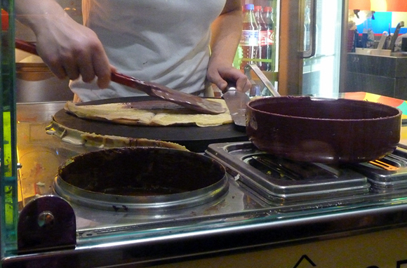Nutella Crepes, France