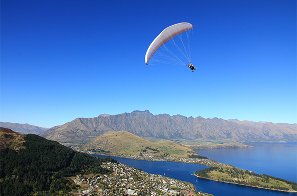 A Bird's-Eye View of Queenstown