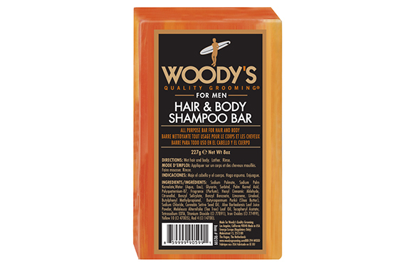 Woody's Quality Grooming Hair And Body Shampoo Bar