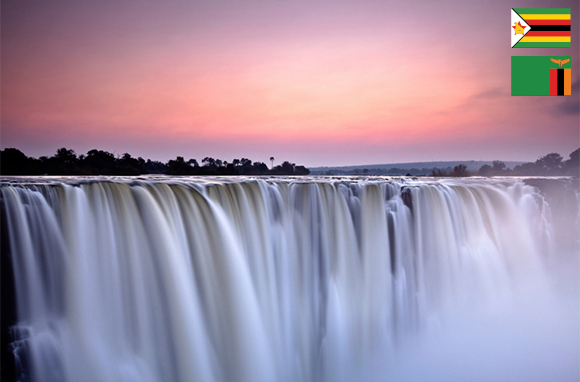 Mosi-oa-Tunya National Park, Zambia, and Victoria Falls National Park, Zimbabwe