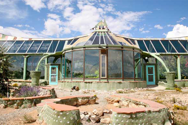Earthship Biotecture, Taos, New Mexico