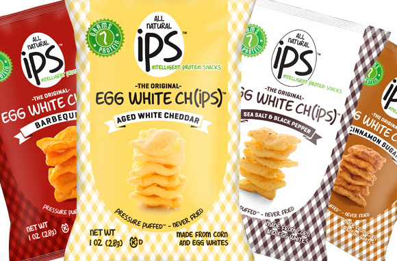 Ips All Natural Egg White Chips
