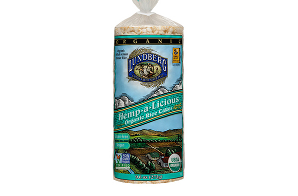 Lundberg Family Farms Hemp-a-Licious Organic Rice Cakes