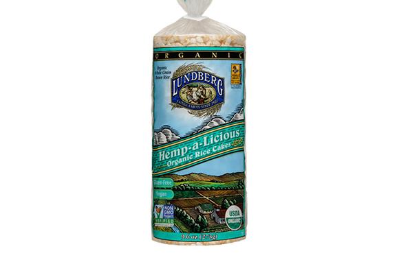 Lundberg Family Farms Hemp-a-Licious Organic Rice Cakes