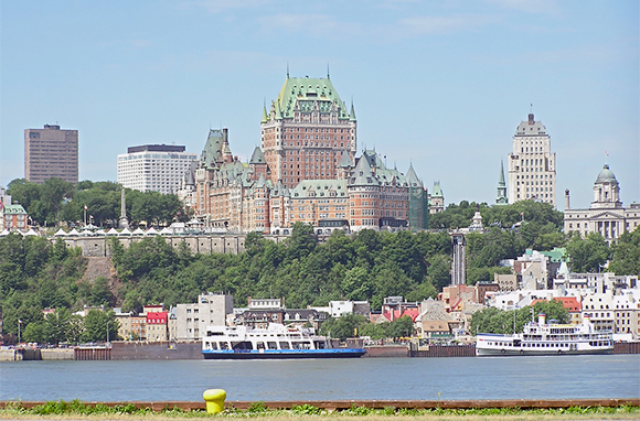 St. Lawrence River Ferry, Quebec