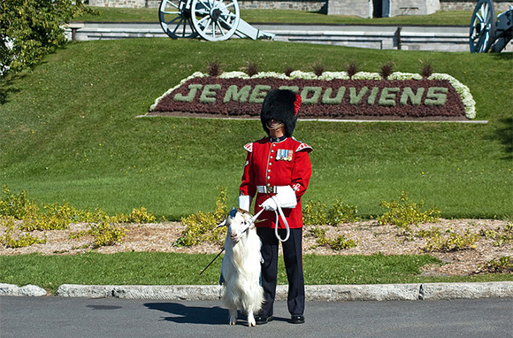 Changing of the Guard, La Citadelle, Quebec