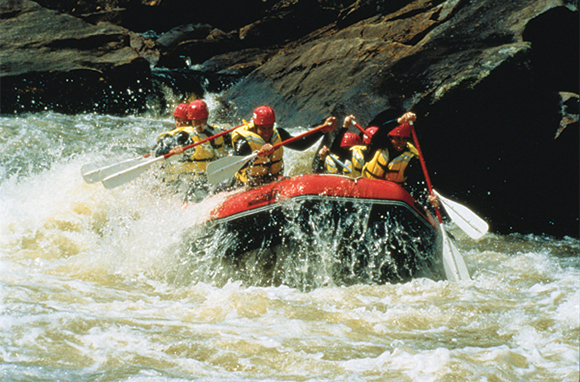 White-Water Rafting, Rouge River, Quebec