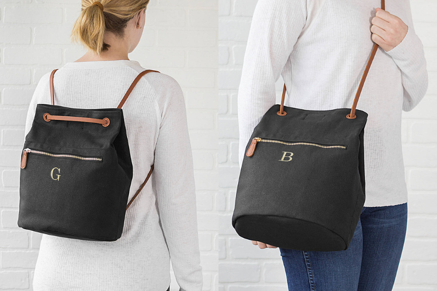 cathys concept monogram convertible backpack tote.