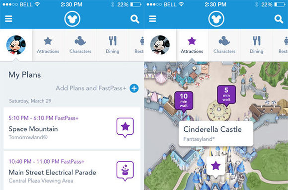 Walt Disney World App