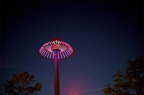 SteelHawk, Worlds of Fun, Kansas City, Missouri