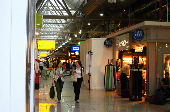 Buy at Tax-Free Airport Stores
